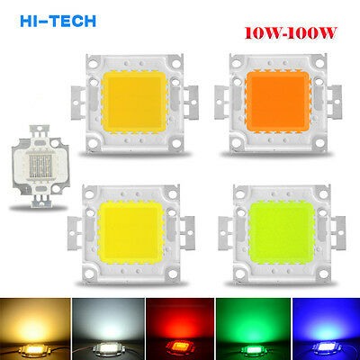 Sale 10W 20W 30W 50W 100W RGB SMD Bright High Power LED Chips Flood Light Bulb