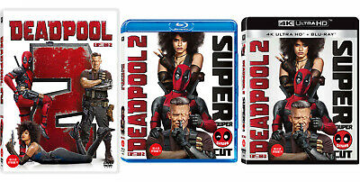 Deadpool 2 - 4K UHD, Blu-ray, DVD (2018) / Pick one!