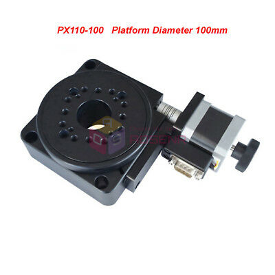 Electric Optical Rotating Platform Motorized Rotation Stage 100mm PX110-100