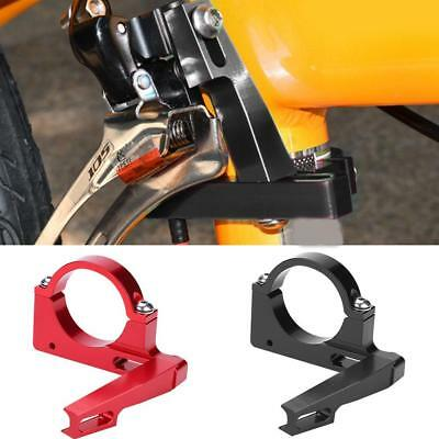 Bike Bicycle Front Derailleur Clamp Front Mech Mount Braze-on Adapter Ultralight