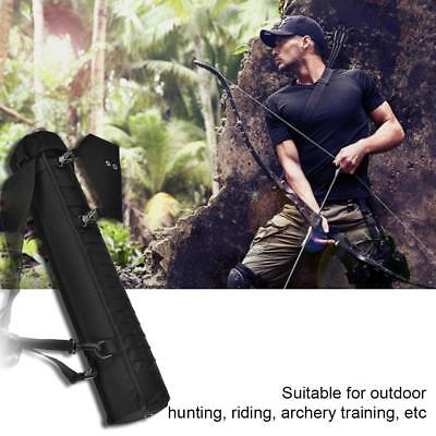Outdoor Hunting Back Quiver Shoulder Archery Bow Arrow Holder Pouch Belt Bag LY