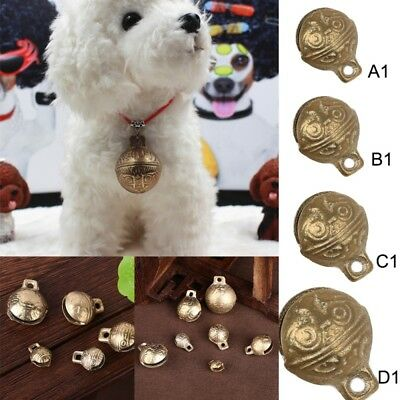 Brass Small Jingle Bell Copper Christmas Holiday Festival Pendants Decor DIY