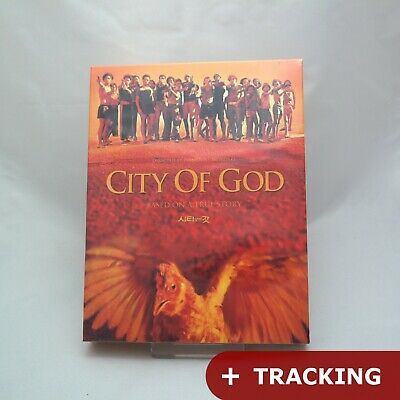 (Presale) City Of God (Blu-ray) Full Slip Case Limited Edition w/ Lenticular Ins