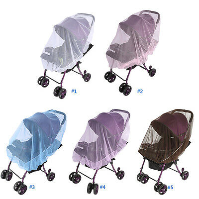 Mosquito Net Baby Pushchair Fly Insect Safe Mesh Cover Protector Buggy Stroller