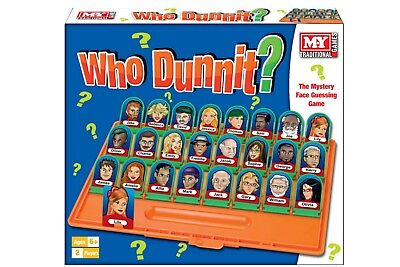 Traditional Who Dunnit? Family Fun Guessing Game Board Game Toy Kids Xmas Party