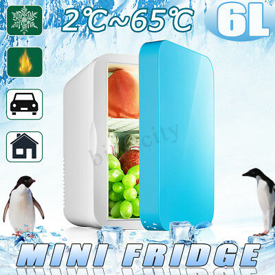 Portable Mini Bar Car Home Fridge Travel Refrigerator Cooler Freezer Camping 6L