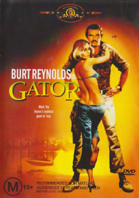 Gator DVD RARE Burt Reynolds Lauren Hutton SEQUEL ~ WHITE LIGHTNING BRAND NEW R4