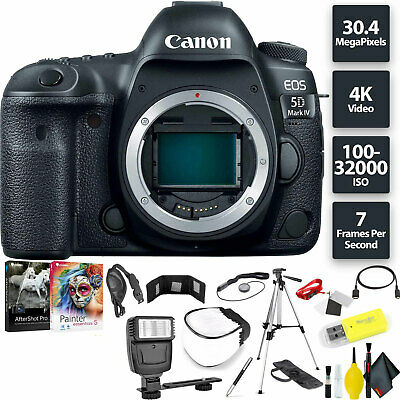 Canon EOS 5D Mark IV DSLR Camera (Body) Base Combo