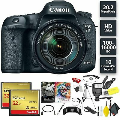 Canon EOS 7D Mark II DSLR Camera Bundle0260