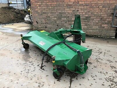 Tractor Mounted Yard Brush /Sweeper