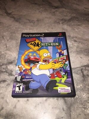 Simpsons: Hit & Run (Sony PlayStation 2 Game Complete !