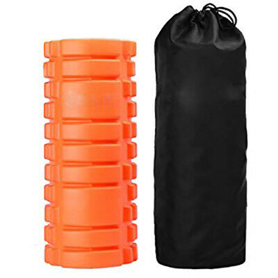 2 In 1 Trigger Point Foam Sports Massage Roller Exercise Therapy Yoga Physio