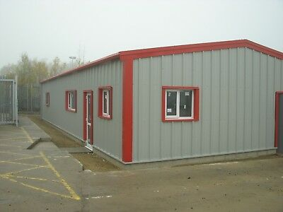Steel Building Office Storage Prefab Industrial Commercial  SHARP AND STRONG LTD
