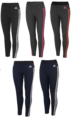 6fcdea2b81a8ca adidas Damen Leggings Tights Sporthose Leggins Hose Fitness Jogging 3 Stripe  110