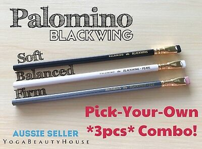 Palomino Blackwing *Choose Any 3pcs* frm Soft or Balanced or Firm 602 Pencil