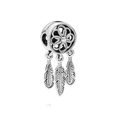 S925 Silver EURO Charm Dream Catcher Follow Your Heart by Pandora's Angels
