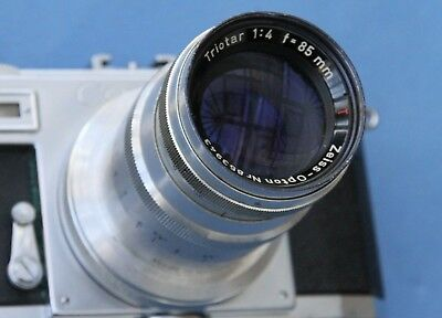 Zeiss-Opton TRIOTAR 85mm f4 for Post-War Contax