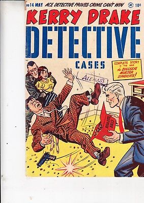 Kerry Drake Detective Cases    No 14  Harvey Enterprises      May1949