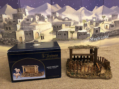 "Fontanini SHEEP SHELTER - 5"" scale, #54625, new"