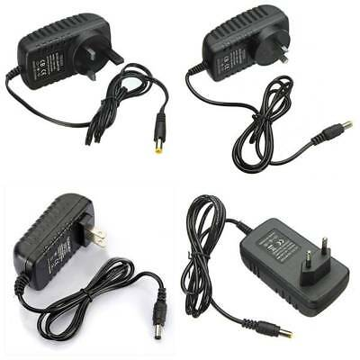 AC100-240V to DC 12V 2A 24W Converter Adapter Power Supply For LED Strip Lights