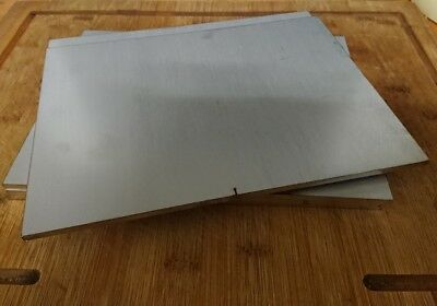 """Stainless Steel Plate 205Mmx123Mmx4Mm Laser Offcuts.""""special Offer"""""""