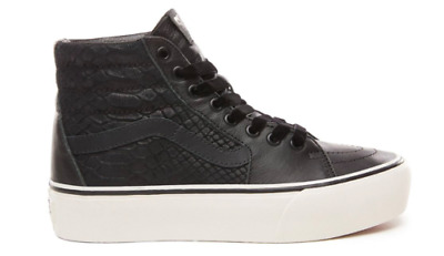 VANS UNISEX UA Sk8 Hi Platform 2.0 Leather Sneakers 5f1341a99