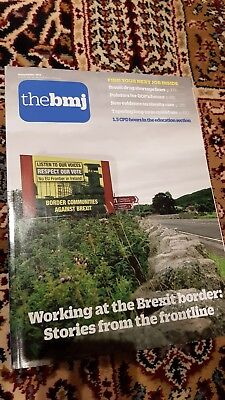 British Medical Journal BMJ Sept 17 - No 8169 junior doctors Brexit