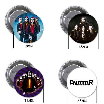 Avatar, band - 4 chapas, pin, badge, button