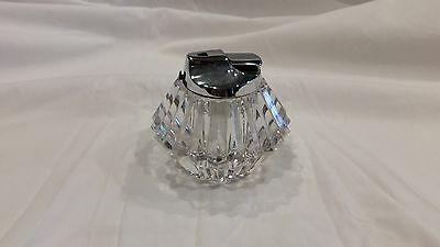 SOLID CRYSTAL - was a lighter but can be used as a candle holder