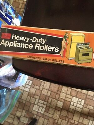 SEARS HEAVY DUTY APPLIANCE ROLLERS 2200 LB CAPACITY ADJUSTABLE No's