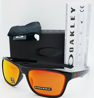 3eac481b98b NEW Oakley Holston sunglasses Black Prizm Ruby Polarized 9334-12 AUTHENTIC  9334