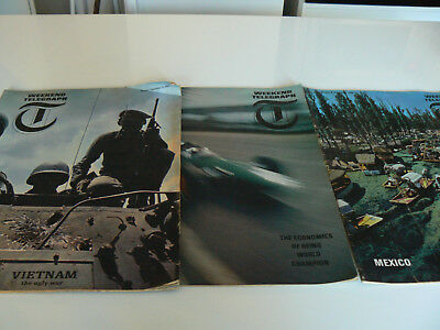 Issue 1, 2 and 4 Weekend Telegraph magazine from 1964