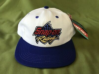 2c6865d6428 New Nwt Cream blue Snap On Racing Baseball Cap Hat Snapback Nothing Even  Comes.