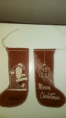 Vintage New Holland Machine Company Christmas Stockings