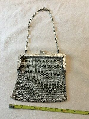 Vintage German Silver Coin Purse