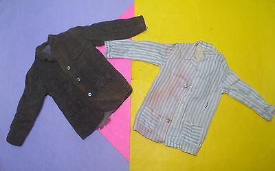 Vtg Remco 60s LITTLECHAP Doll Clothes lot Dr./Dad JACKET & NIGHT SHIRT
