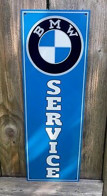 BMW Service Retro Reproduction Garage Sign