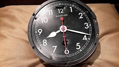 5in  Army/navy  Platform clock. ..for Repair Or Spares