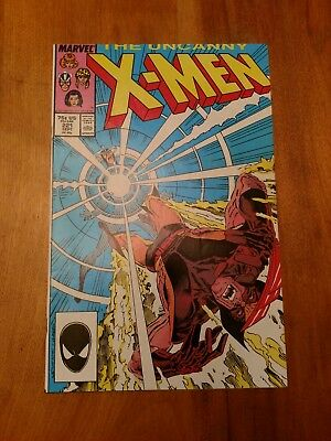 The Uncanny X-Men #221 NM 99 cents NO RESERVE!