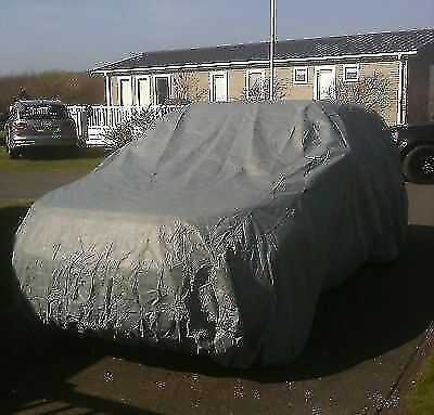 Outdoor Car Cover Waterproof Rain UV For FIAT 500 ABARTH