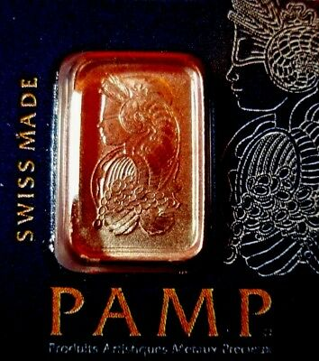 PAMP Suisse 1 Gram .9999 Gold Bar Fortuna Sealed  In Assay Card