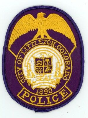 Littleton Colorado Co Police Colorful Patch Style #2 See Below For Great Deal
