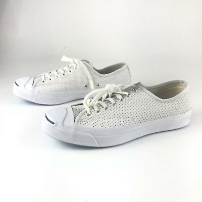 cc2dc41c17f7 NIB  125 CONVERSE Jack Purcell Signature Ox Perforated Leather ...