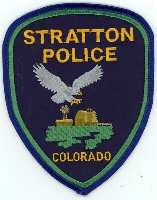 Stratton Colorado Co Police Colorful See Below For Great Deal