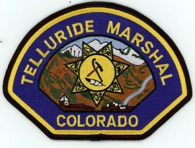 ALMA MARSHAL POLICE COLORADO CO COLORFUL STYLE #2 SEE BELOW FOR GREAT DEAL