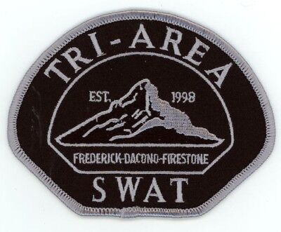 Tri Area Swat Colorado Co Police Subdued 3 Cities See Below For Great Deal