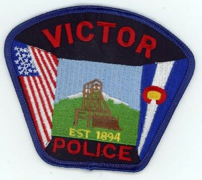 Victor Colorado Co Police Colorful Style #2 See Below For Great Deal