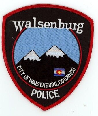 Walsenburg Colorado Co Police Colorful See Below For Great Deal