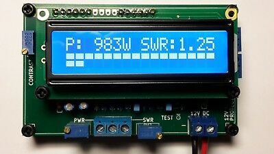 Swr Power Meter Lcd Digital Indicator With Swr Protection