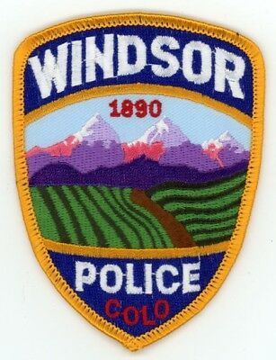 Windsor Colorado Co Police Colorful See Below For Great Deal